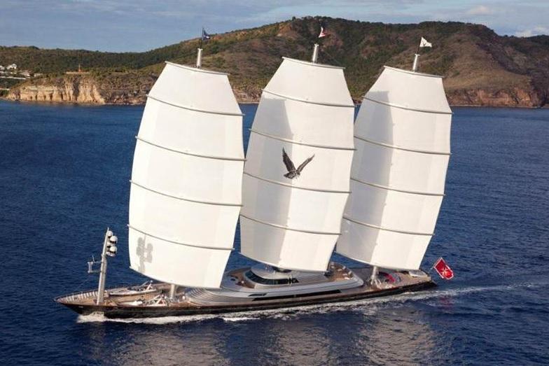 Пєсков поплив у весільну подорож на найдорожчій парусній яхті в світі - фото 4