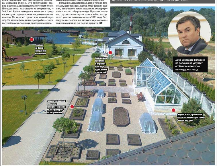 Навальный в новом расследовании ФБК рассказал о якобы 400-метровой квартире спикера Госдумы Вячеслава Володина