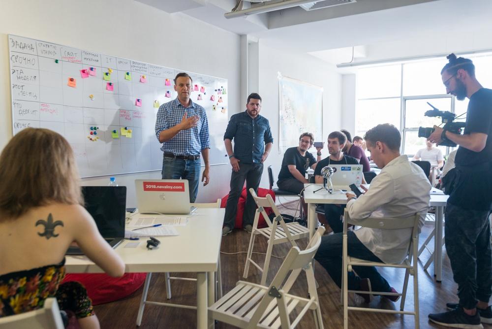 Алексей Навальный — Сегодня и завтра у нас хакатон