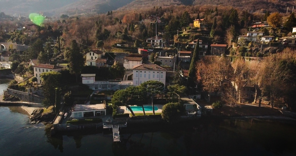 Вилла Соловьёва (Италия, озеро Комо)