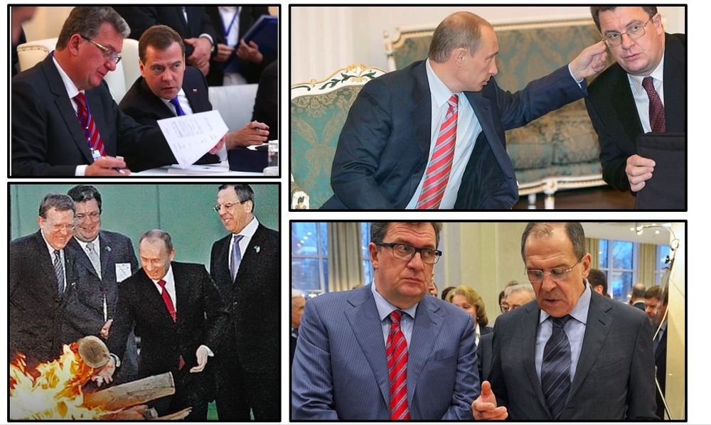 Путин, Приходько, Медведев, Лавров