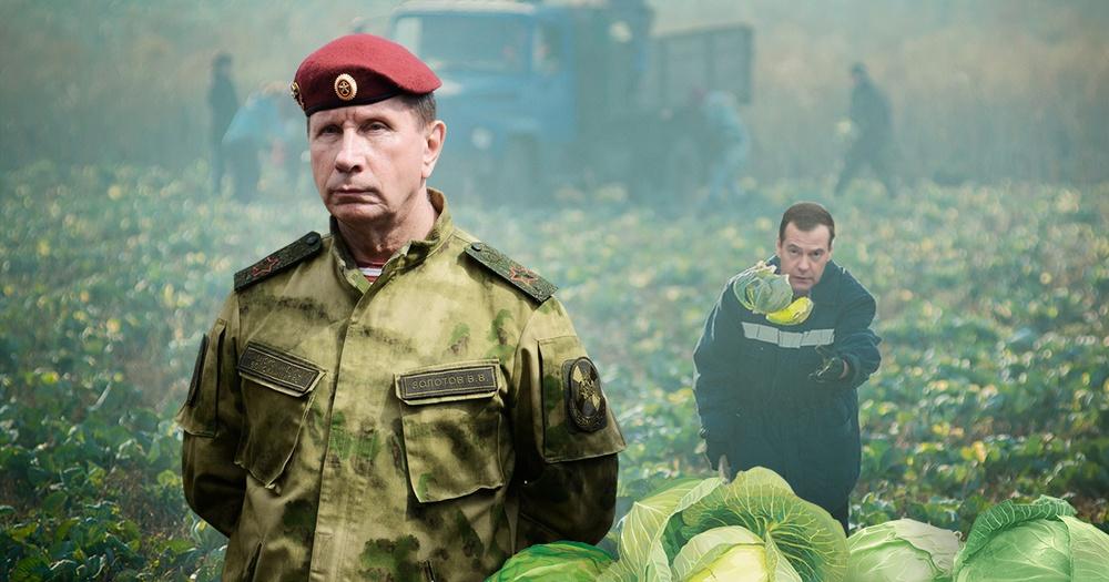 Интересно как Золотов здесь похож и внешне и по речи на Путина. Прямо двойник. (видео)