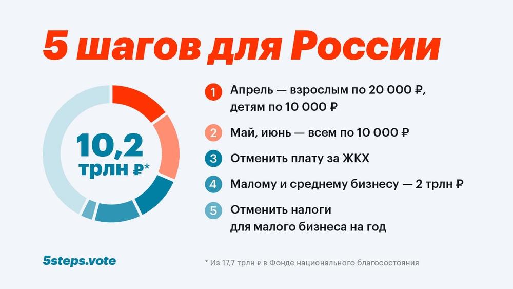 5 шагов для России