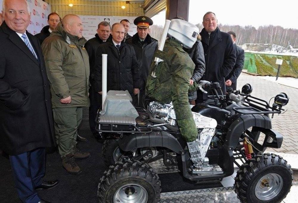 В российской армии есть лазерное оружие, - замглавы Минобороны РФ Борисов - Цензор.НЕТ 6291